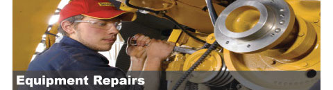 Equipment Repair in Michigan City & La Porte IN