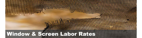Window Screen Repair in Michigan City & La Porte IN