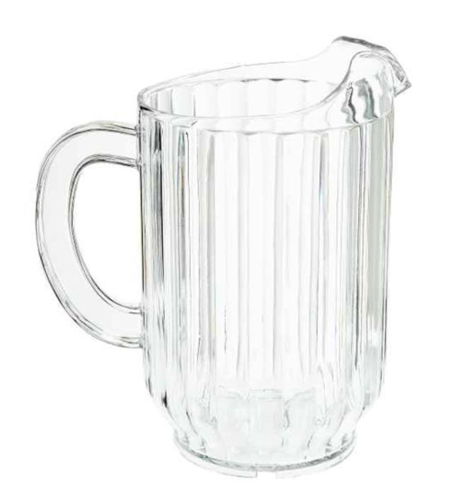 Where to find WATER PITCHER, PLAST in Michigan City