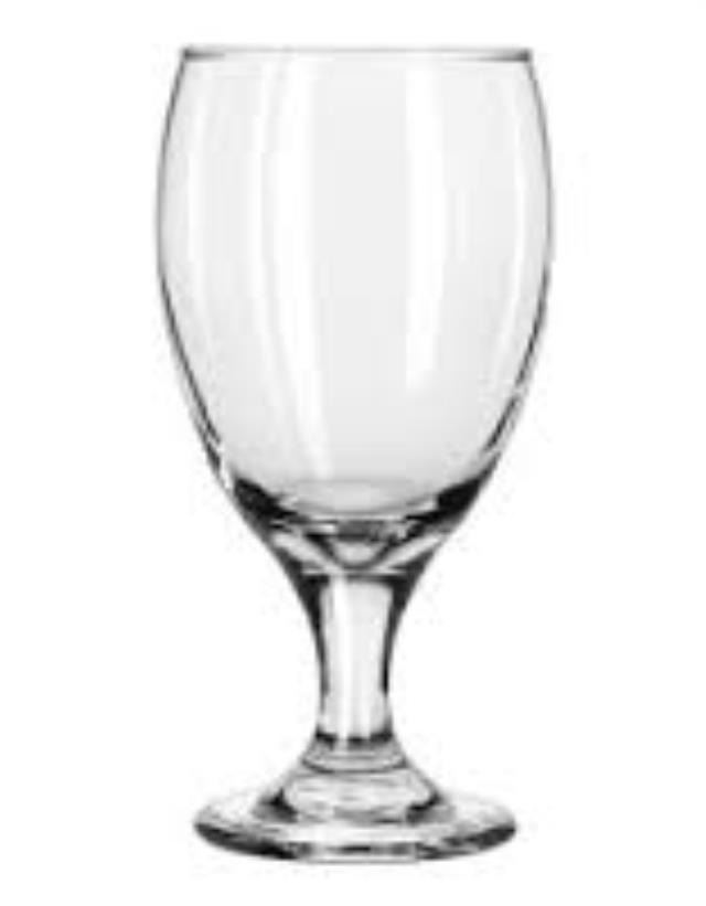 Where to find GLASS, WATER GOBLETS 12 OZ in Michigan City