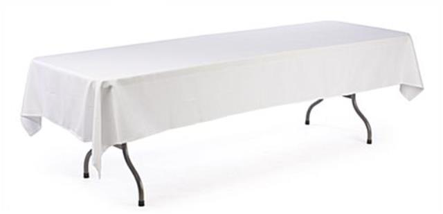 Where to find TABLECLOTH, 90  X 156  White in Michigan City