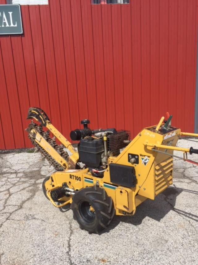 Where to find TRENCHER, VERMEER  36    RT100 in Michigan City