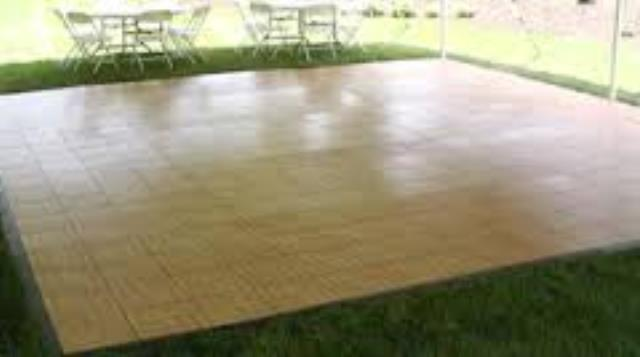 Where to find DANCE FLOOR, 21 FT X 21 FT in Michigan City