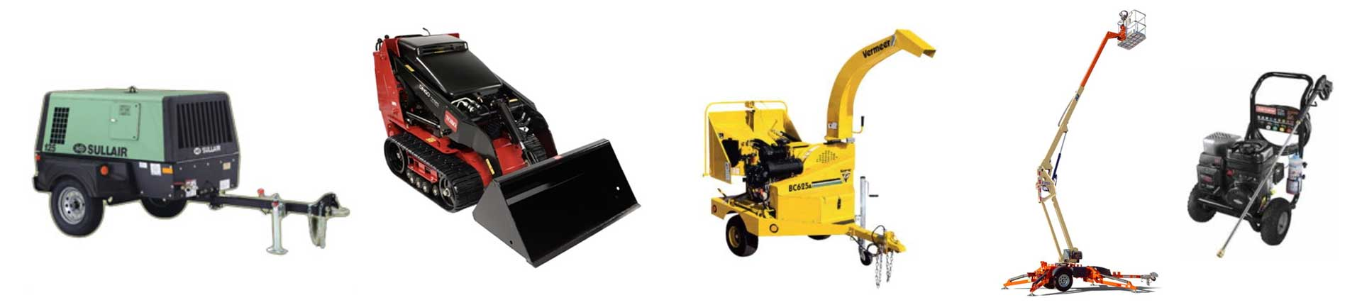 Equipment rentals in La Porte County and Northwest Indiana