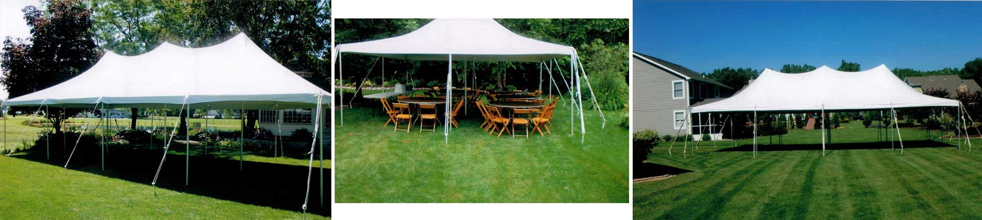 Tent rentals in La Porte County and Northwest Indiana